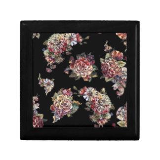 Boîte À Souvenirs boîte vintage de souvenir de bouquet floral