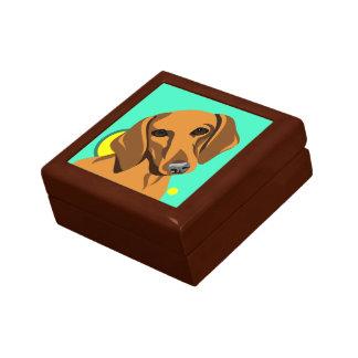Boîte À Souvenirs Cadeaux d'amoureux des chiens de teckel