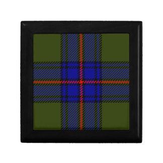 Boîte À Souvenirs Clan Shaw de tartan