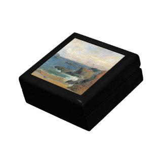 Boîte À Souvenirs Côte rocheuse par Paul Gauguin, impressionisme