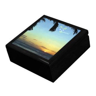 Boîte À Souvenirs Coucher du soleil de Kauai