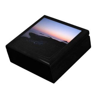 Boîte À Souvenirs Coucher du soleil d'île d'étoile