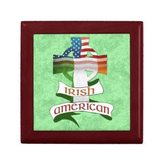 Boîte À Souvenirs Croix celtique américaine irlandaise Giftbox