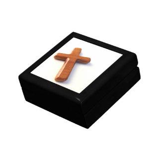 Boîte À Souvenirs Croix en bois