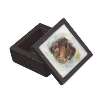 Boîte À Souvenirs De Première Qualité Art mignon de chiot de Yorkshire Terrier