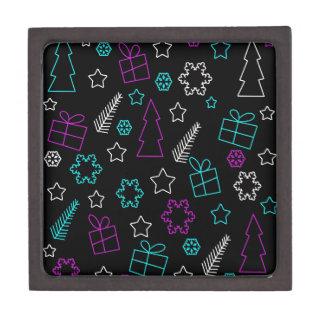 Boîte À Souvenirs De Première Qualité Motif créatif de Noël