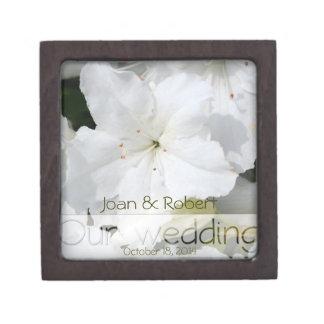 Boîte À Souvenirs De Première Qualité Notre boîte-cadeau florale de photographie