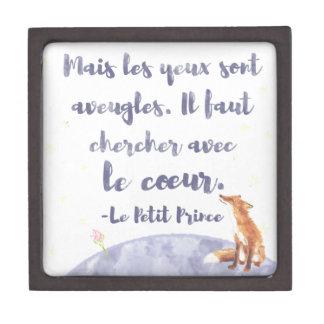 Boîte À Souvenirs De Première Qualité Watercolor Le Petit Prince le petit prince