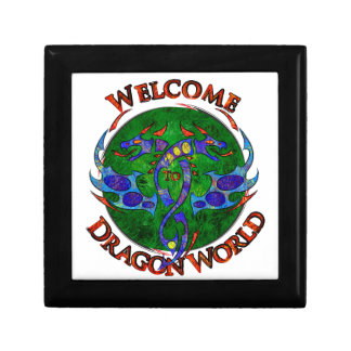 Boîte À Souvenirs Draginossium - monde de dragon