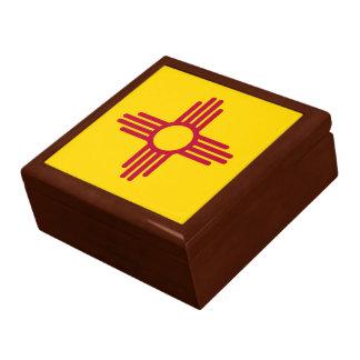 Boîte À Souvenirs Drapeau d'état du Nouveau Mexique