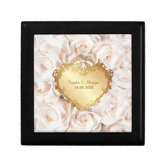 Boîte À Souvenirs Élégance de rose de rose de Champagne
