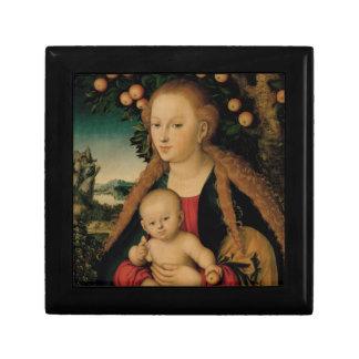 Boîte À Souvenirs Enfant de Vierge sous le pommier Cranach