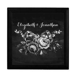 Boîte À Souvenirs Épouser victorien vintage de roses