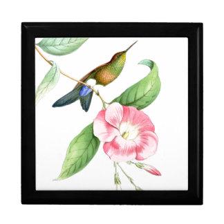 Boîte À Souvenirs Faune florale d'animaux de fleurs d'oiseaux de