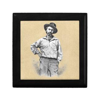 Boîte À Souvenirs Feuille de Walt Whitman d'herbe