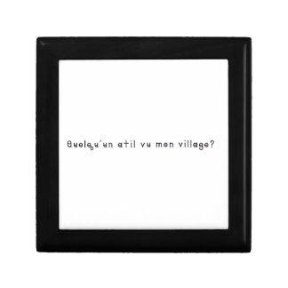 Boîte À Souvenirs Français-Village