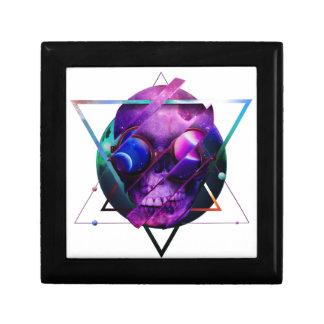 Boîte À Souvenirs Galaxie de crâne d'univers