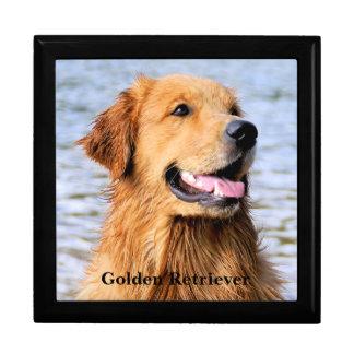 Boîte À Souvenirs Golden retriever