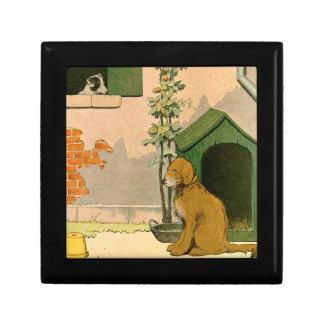 Boîte À Souvenirs Golden retriever et Jack Russell Terrier