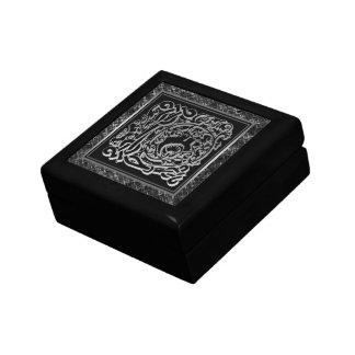 Boîte À Souvenirs L boîte décorative argentée de Masselli de