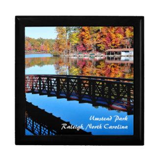 Boîte À Souvenirs Lac autumn