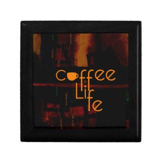 Boîte À Souvenirs Le café est la vie
