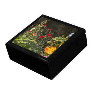 Boîte À Souvenirs Le jardin floral de fleurs fleurit photographie