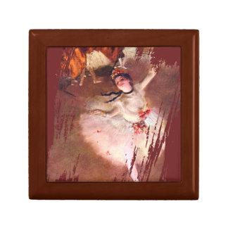 Boîte À Souvenirs L'étoile (danseur sur l'étape) par Edgar Degas