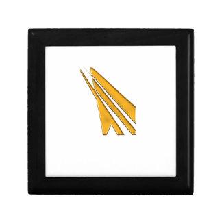 Boîte À Souvenirs logo d'or