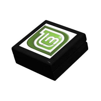 Boîte À Souvenirs Logo en bon état de Linux