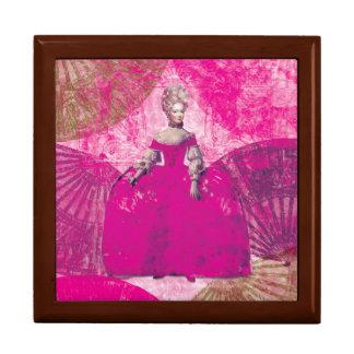Boîte À Souvenirs Marie Antoinette Pink Dress