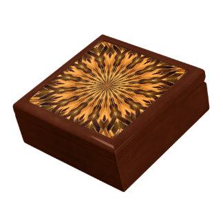 Boîte À Souvenirs Médaillon de bouclier de plume