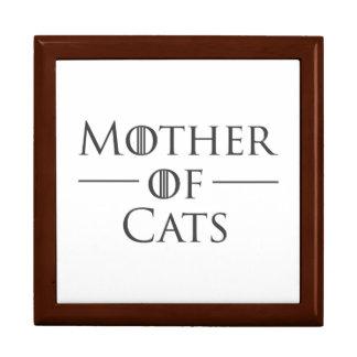 Boîte À Souvenirs Mère des chats