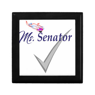 Boîte À Souvenirs Mme le sénateur