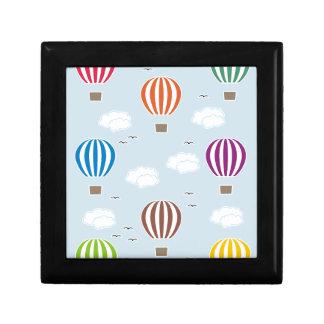 Boîte À Souvenirs Motif de ballons à air