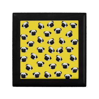 Boîte À Souvenirs Motif de chien de carlin