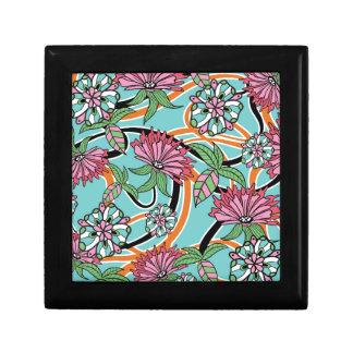 Boîte À Souvenirs motif floral d'été heureux