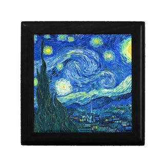 Boîte À Souvenirs nuit étoilée de Van Gogh
