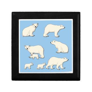 Boîte À Souvenirs Ours blanc