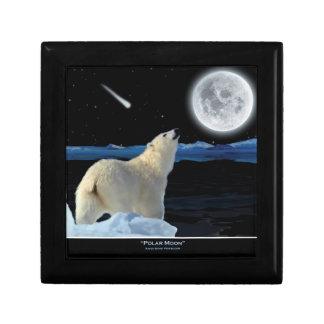 Boîte À Souvenirs Ours blanc et boîte-cadeau arctique de tuile de