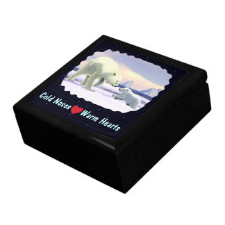 Boîte À Souvenirs Ours blanc - maman Nose Best