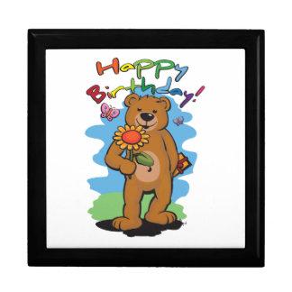 Boîte À Souvenirs Ours d'anniversaire