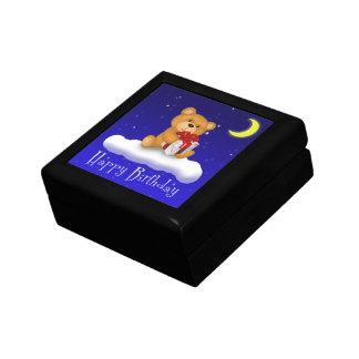 Boîte À Souvenirs Ours de nounours avec la boîte-cadeau de tuile de