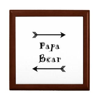 Boîte À Souvenirs Ours de papa