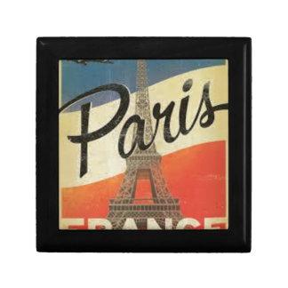 Boîte À Souvenirs Paris France Vintage