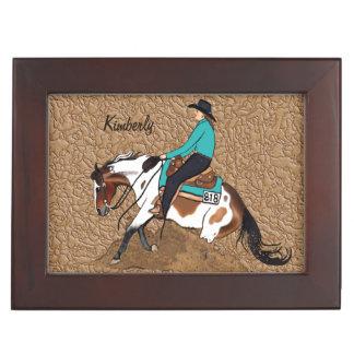 Boîte À Souvenirs Peignez la boîte de maîtrise de souvenir de cheval