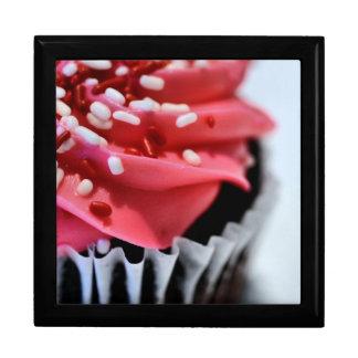 Boîte À Souvenirs Petit gâteau rose