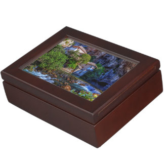 Boîte À Souvenirs Petit village Blagaj sur la cascade de Buna,