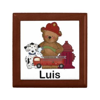 Boîte À Souvenirs Peu de cadeaux personnalisés par ours du feu de