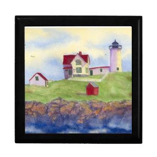 Boîte À Souvenirs Phare York Maine de protubérance